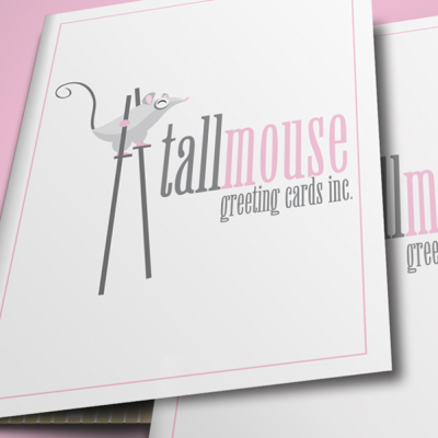 Tall Mouse Greeting Cards