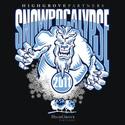 Snowpocalypse T-shirt Design