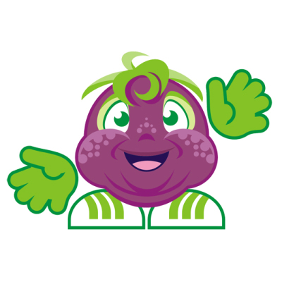 Cute Little Grape