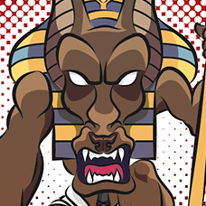 lunging Anubis preview